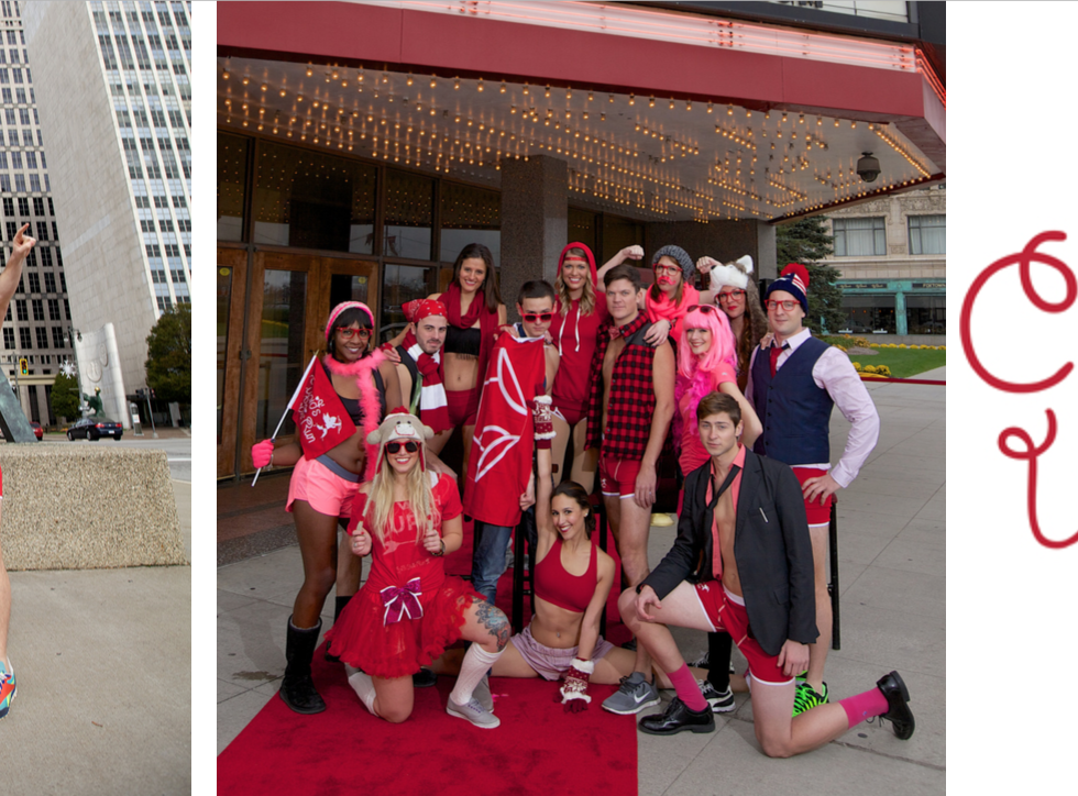 Cupid's Undie Run: Putting The Hilarity In Charity For The Third Year In A Row