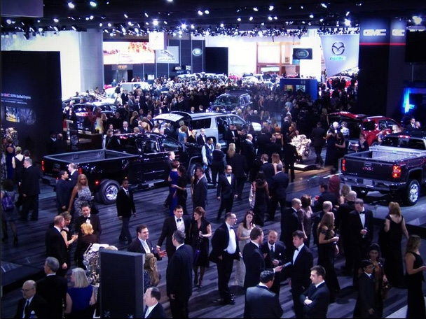 Preview the north american international auto show gears for Charity motors auction in detroit mi