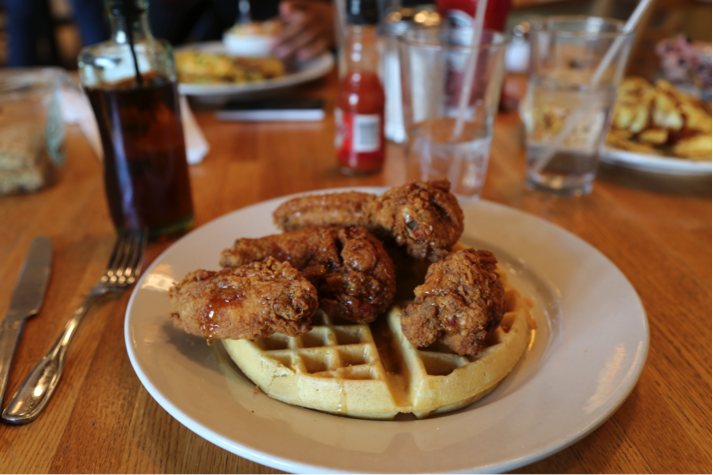 Hudson Cafe Chicken and Waffles