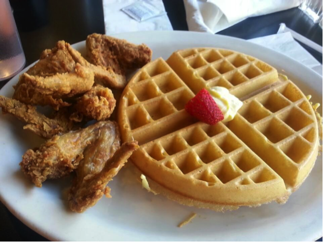 New Center Eatery Chicken and Waffles