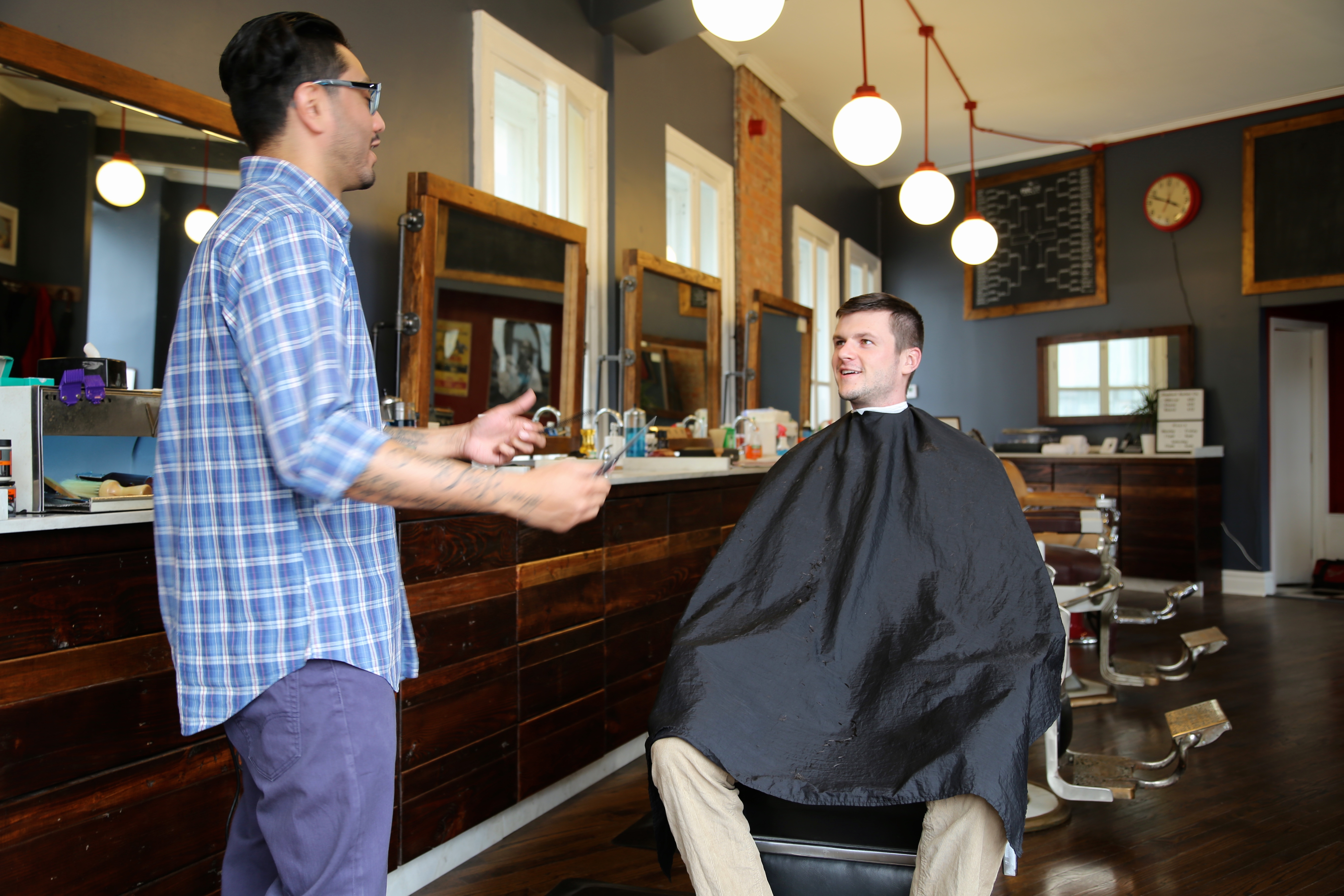 Enjoy A Shave And A Haircut At Standard Barber Company Opportunity