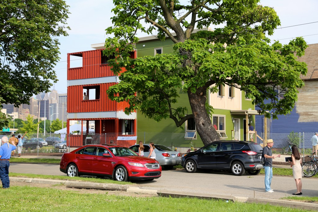 Take a Sneak Peek at Detroit's New Container Condos - Opportunity Detroit Blog