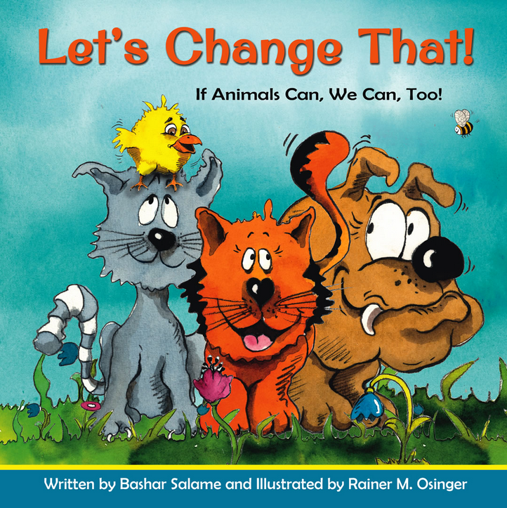 """Let's Change That"" Book Cover"