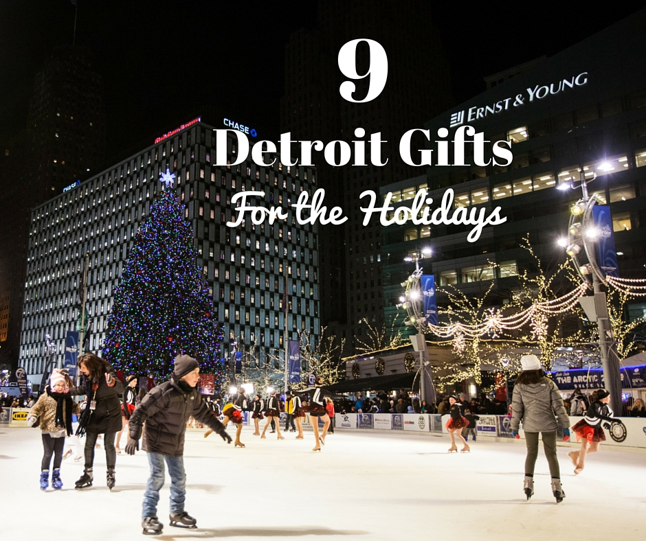 9 Detroit Gift Ideas For The Holidays