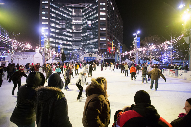 Detroit's 12th Annual Tree Lighting Kicks Off the Season of Winter Magic - Opportunity Detroit Blog
