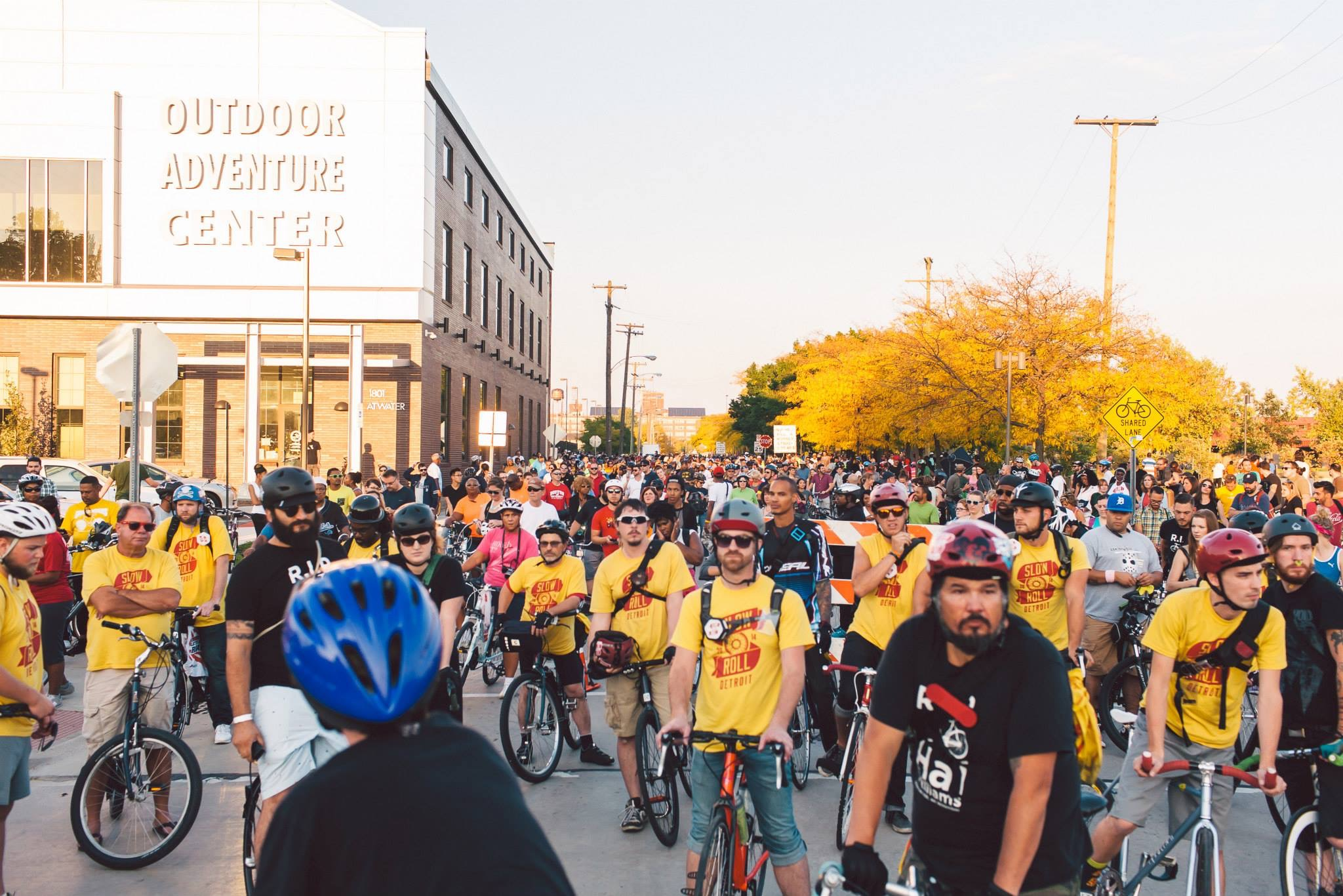 Detroit's Slow Roll Becomes Red Roll To Support Heart Health - Opportunity Detroit Blog