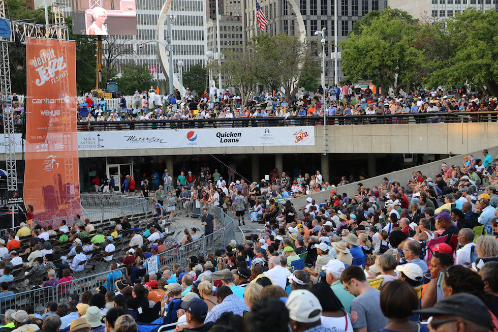 The 37th Annual Detroit Jazz Festival Kicks Off Labor Day Weekend