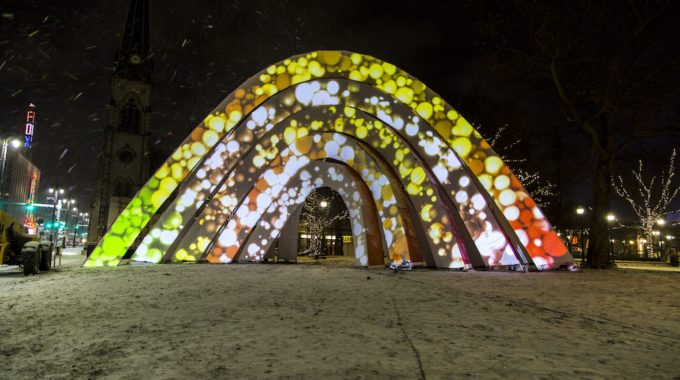 LuminoCITY Lights Up Detroit In A Spectacular Display Of Color And Sound - Opportunity Detroit