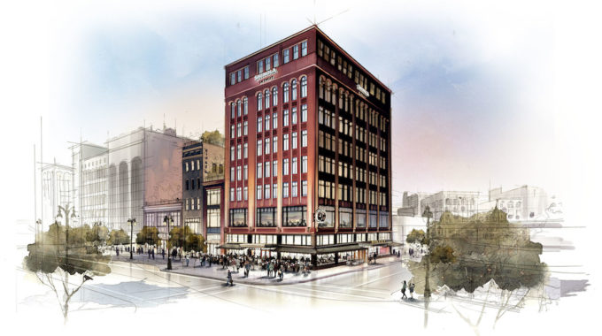Shinola Hotel Breaks Ground At 1400 Woodward Ave - Opportunity Detroit