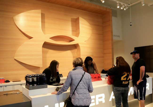 "Under Armour Says ""I Will"" As They Open On Woodward Avenue"