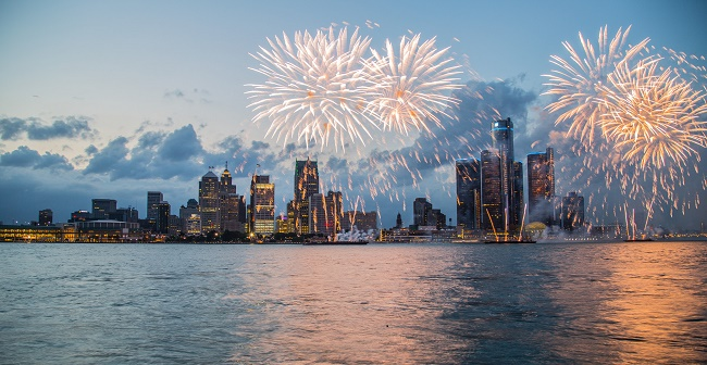 The 59th Annual Ford Fireworks To Light The Sky