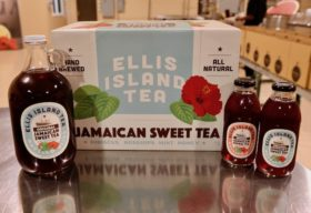 New packaging for Ellis Island Tea