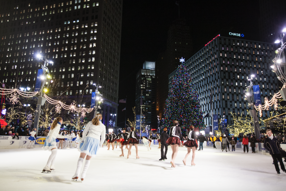 Skating Clubs Perform at the Rink - Opportunity Detroit Blog