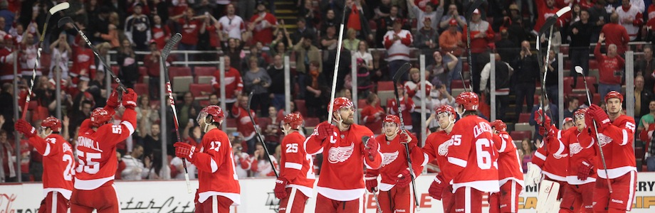 Historic Events During Detroit Red Wings Playoff Streak