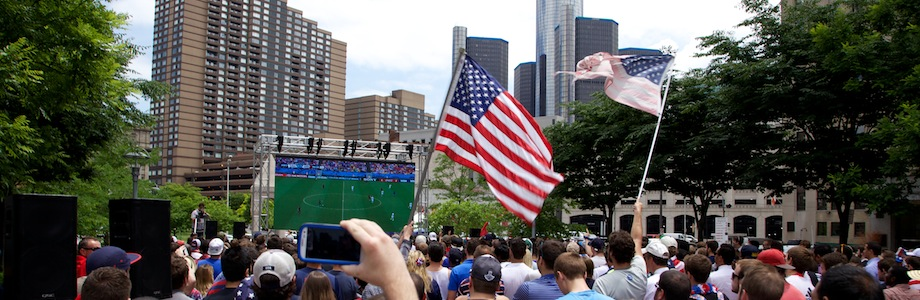 USA Vs. Belgium World Cup Viewing Party