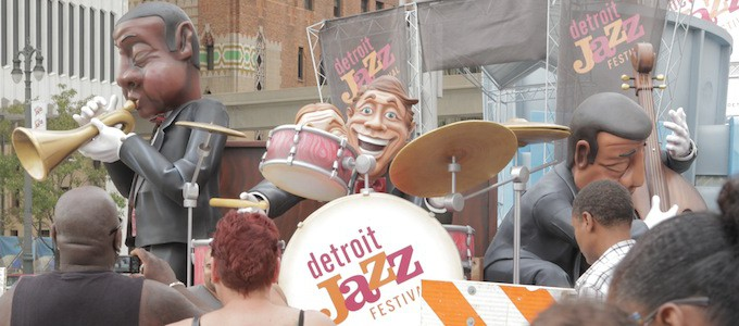 The 35th Annual Detroit Jazz Festival | Opportunity Detroit Detroit Jazz Festival Map on