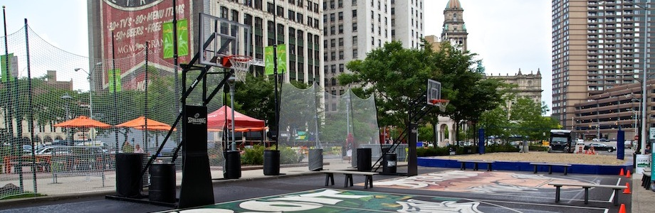 The QL Sports Zone Comes To Cadillac Square!