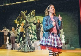 """The Park Players Present """"Alice Through the Looking Glass"""" - (Image MetroTimes)"""