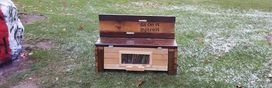 Sit On It Detroit Brings Benches To Bus Stops