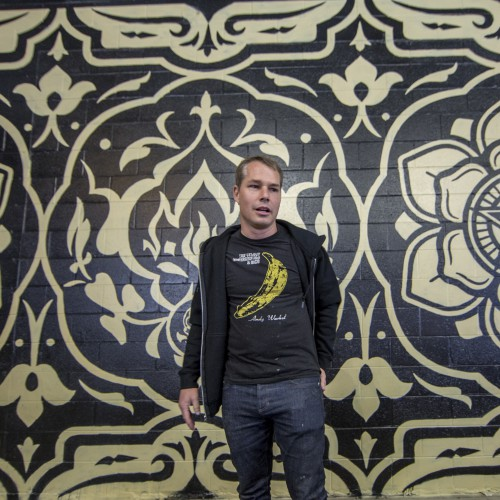 Shepard Fairey Completes His Largest Mural And Now It's Time To Celebrate - Opportunity Detroit Blog