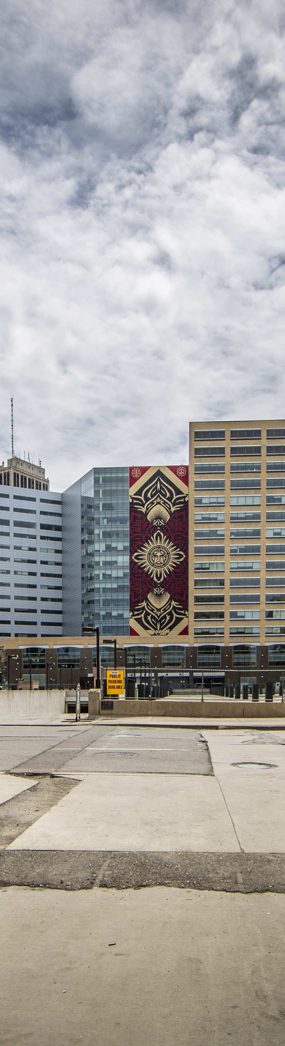 Shepard Fairey Completes His Largest Mural And Now It's Time To Celebrate