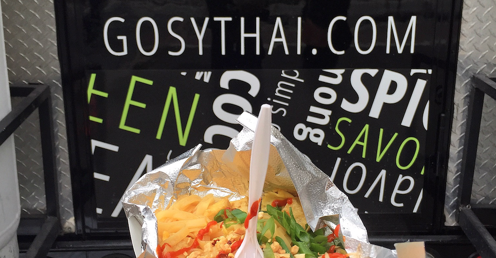 Go Sy Thai Food Truk In Cadillac Square This Week