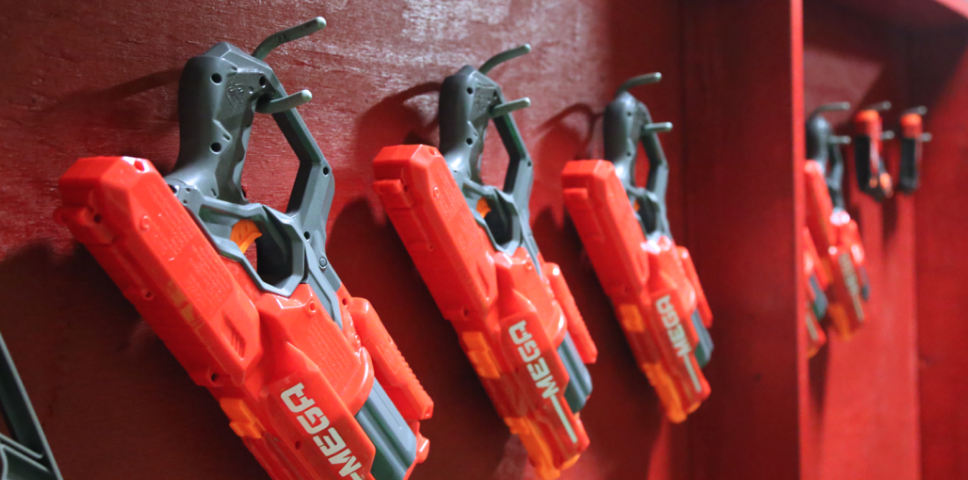 Nerf Guns Rejoice: 5 Things You Need To Know About The Detroit Dart Club - Opportunity Detroit Blog