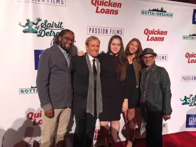 Group Photo With Jason Hall, Michael Bolton, Veronika Scott And Bruce Schwartz