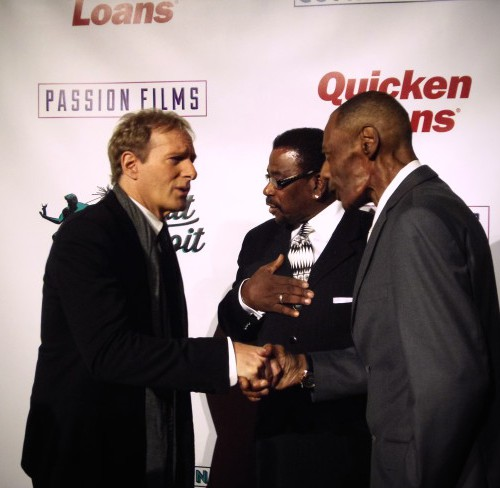 Michael Bolton Greets Guests At Documentary Premiere