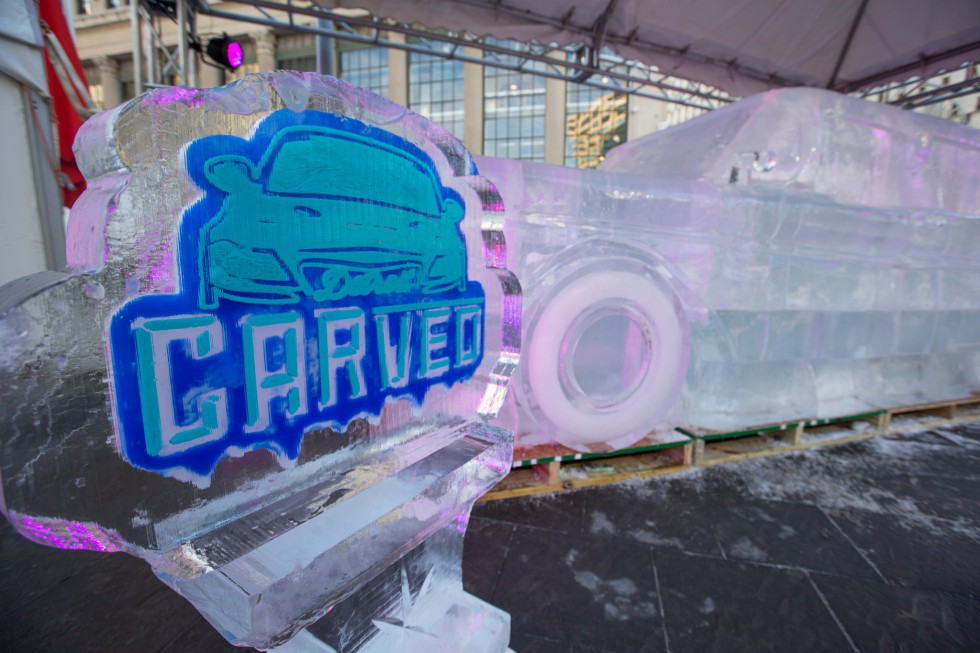 Cool Runnings: Life-Size Ice Cars Arrive In Detroit - Opportunity Detroit Blog