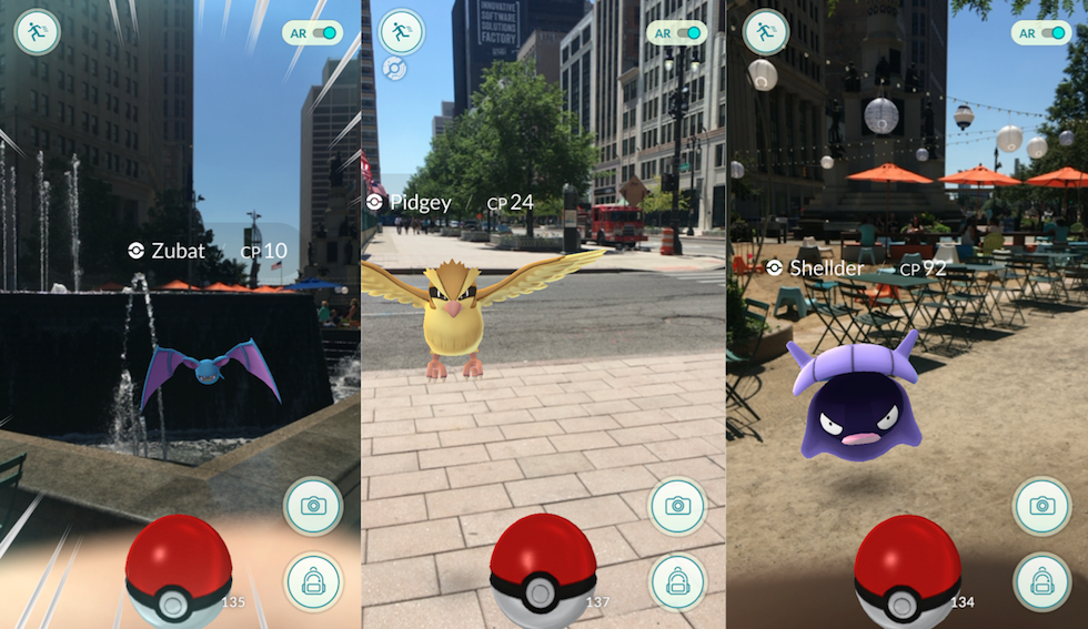 Pokemon Go In Detroit