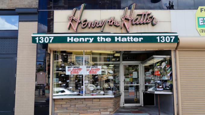 Henry The Hatter's History In Detroit - Opportunity Detroit Blog