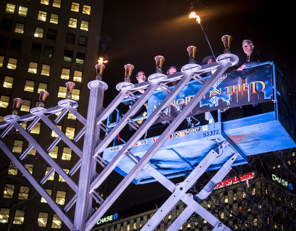 Menorah In The D Lights Up Campus Martius Park On Dec. 27 - Opportunity Detroit