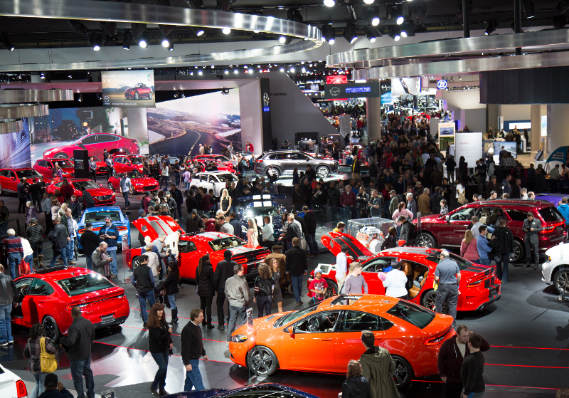 Detroits Annual North American International Auto Show Returns Jan - International car show