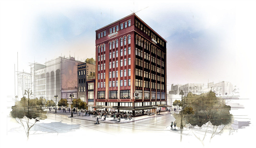 Shinola Hotel Breaks Ground At 1400 Woodward Ave