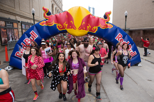 "Dare To ""Bare"" The Cold In This Year's Cupid's Undie Run"