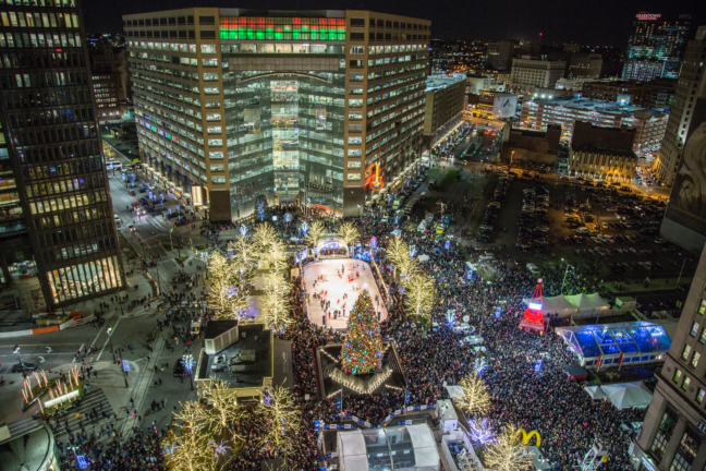 The Must-Have Guide To Detroit's 14th Annual Tree Lighting Festivities