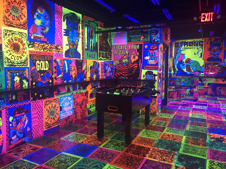 Detroit's Newest Night Spot Deluxx Fluxx Is Serving Up Street-Style Art And Games