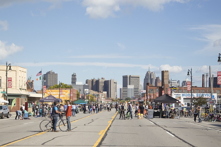Open Streets Detroit Offers Free Street Fair Activities On October 7