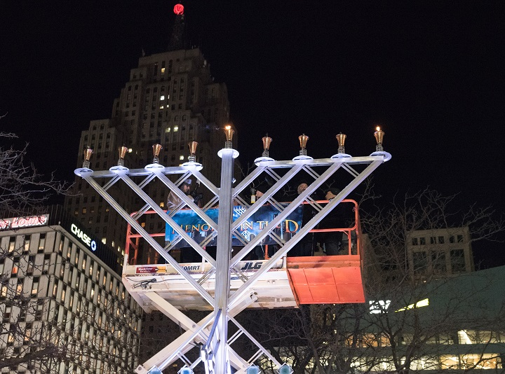 Menorah In The D Celebrates Its 8th Annual Lighting Ceremony – Opportunity Detroit